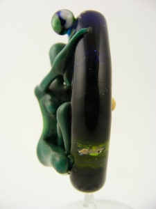 Earth Goddess, Lampwork glass by Sheila Morley